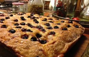 La Schiacchiata Fiorentina (Pan con l'Uva)