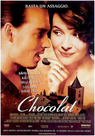 Chocolat di Lasse Hallström, Gran bretagna-USA 2000